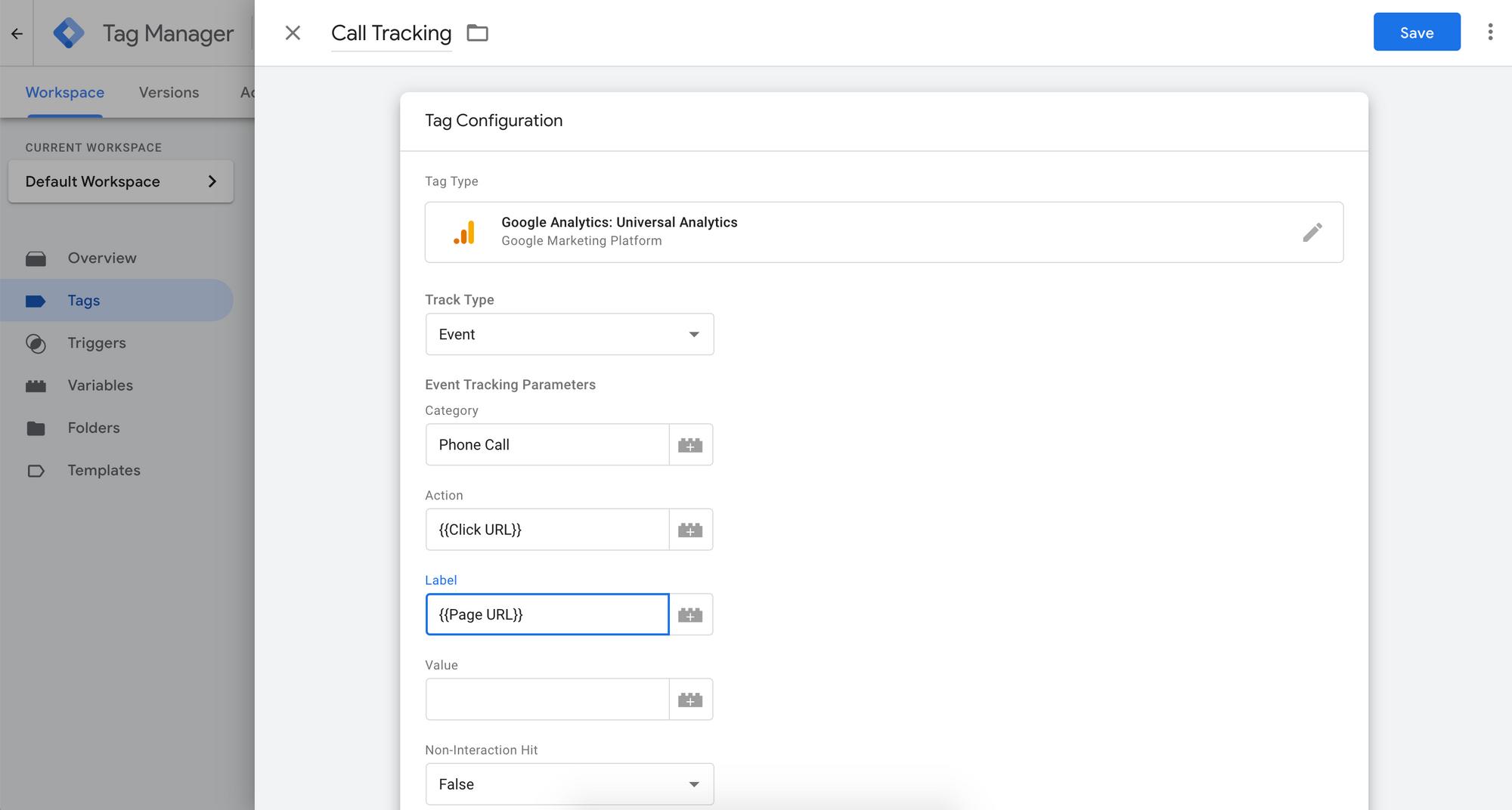 Google Analytics Events